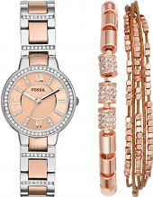 Ladies Fossil Virginia Gift Set Watch ES4137SET