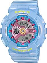 Ladies Casio Baby-G Alarm Chronograph Watch BA-110CA-2AER