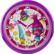 Childrens Character Trolls Wall Clock TROL35