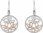 Ladies Unique Sterling Silver Earrings ME-578