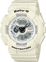 Casio Baby-G Punching Pattern Chronograph Watch BA-110PP-7AER