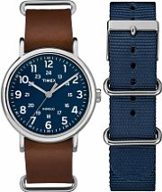 Mens Timex Weekender Box Set Watch TWG015000