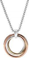 Ladies Fossil Two-tone steel/gold plate Necklace JF01825998