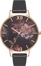 Ladies Olivia Burton Dark Bouquet Watch OB16WG42
