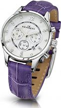 Ladies Kennett Lady Savro Chronograph Watch LWSAVWHSILPU