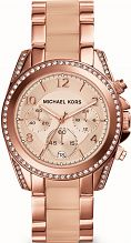 Ladies Michael Kors Blair Chronograph Watch MK5943