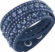 Ladies Swarovski Stainless Steel Slake Dot Bracelet 5201118