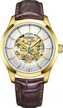 Mens Rotary Mecanique Skeleton Automatic Watch GS05035/03