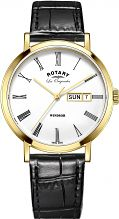 Mens Rotary Swiss Made Windsor Quartz Watch GS90156/01