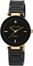 Ladies Anne Klein Watch AK/N1018BKBK