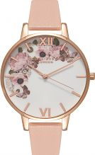 Ladies Olivia Burton Winter Garden Floral Print Watch OB15WG10